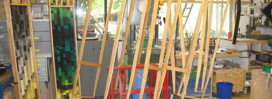 Sjoelen-Rahmen