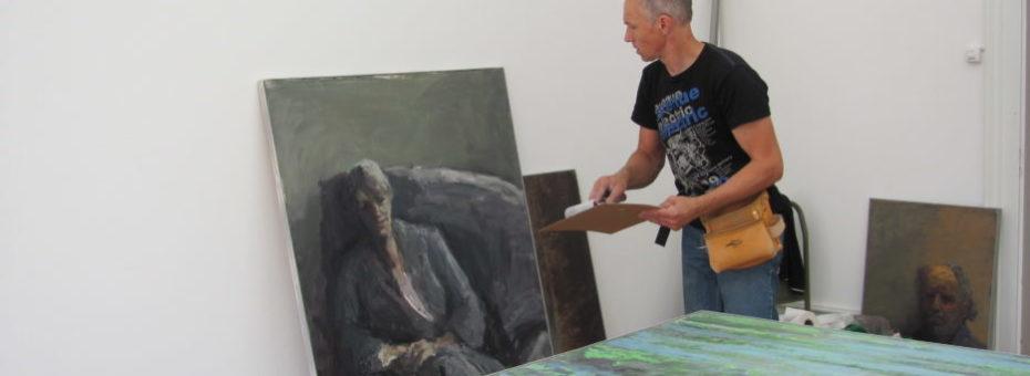 Arbeiten im Kunstmuseum Langenthal