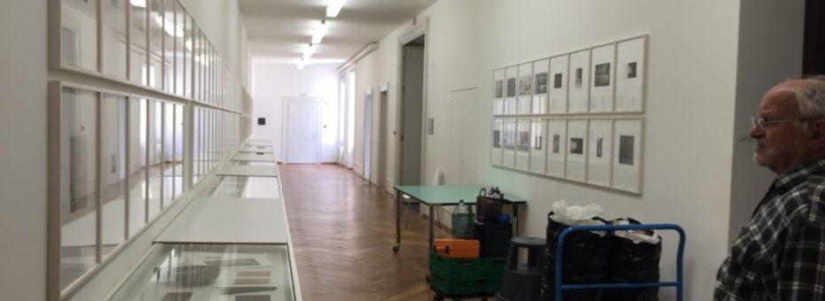 Ausstellung einrichten im Kunsthaus PasquArt in Biel